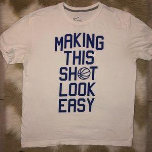 Nike Mens White T Shirt Size XL